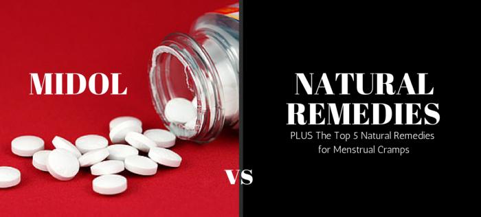 natural remedies for menstrual cramps IV