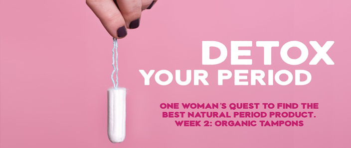 Detox your period - natracare organic cotton tampons