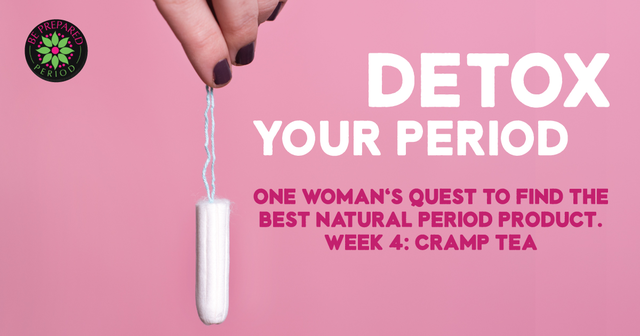 Cramp (PMS) Tea Review - Detox Your Period