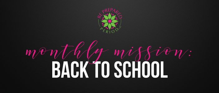 Back to School - Periods