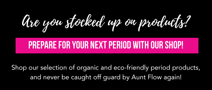shop eco-friendly period products