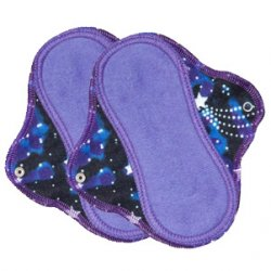 Lunapads Cloth Teeny Pantyliners (set of 2) - Organic