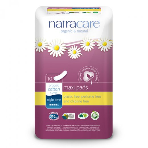 Natracare Natural Night-Time Pads