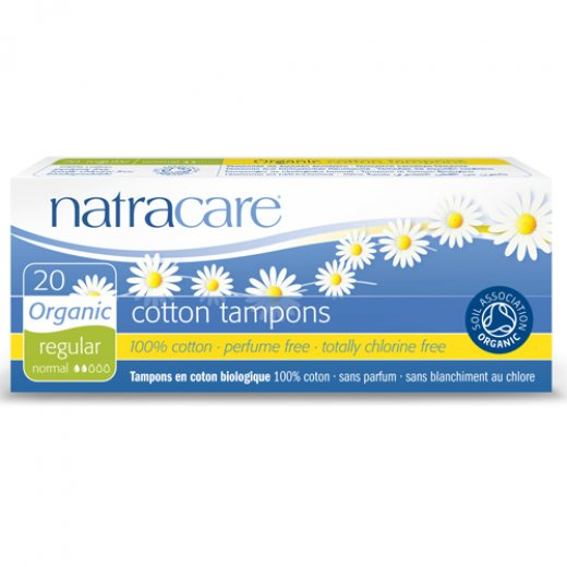 Natracare Organic Non Applicator Tampons
