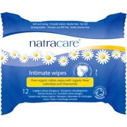 Natracare Organic Intimate Wipes