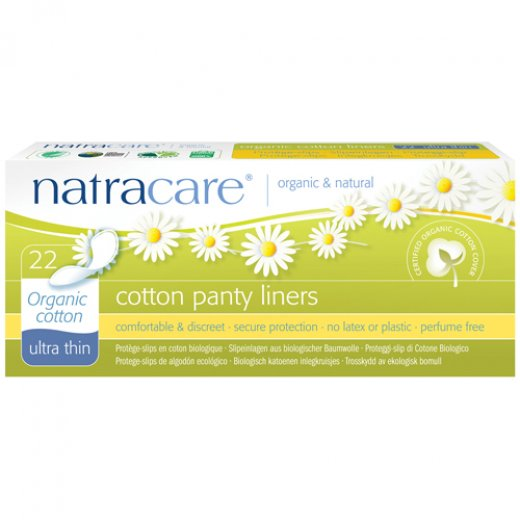 Natracare Organic Ultra Thin Cotton Panty Liner