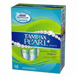 Tampax Pearl Super - Unscented