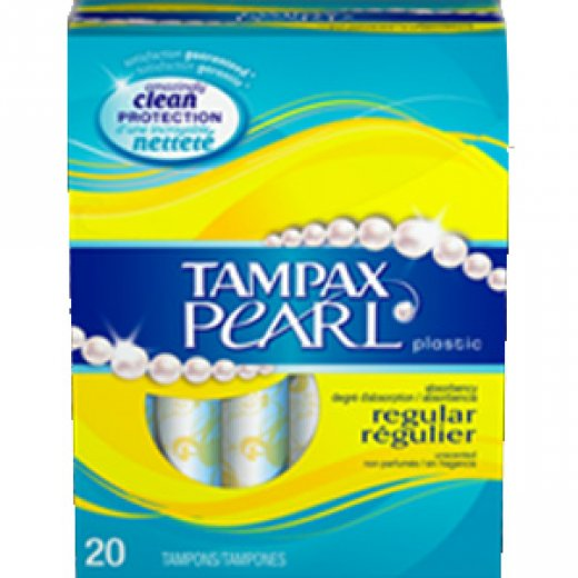 Tampax Pearl Regular - Unscented